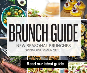 Brunch Guide | New Seasonal Brunches | Spring/Summer 2018