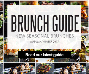 Brunch Guide | New seasonal brunches | Autumn/Winter 2017